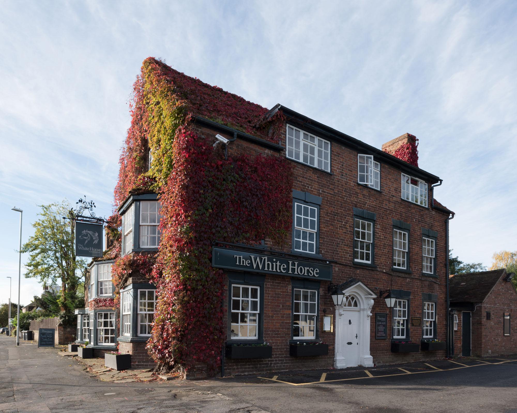 Unedited photo of a pub in Cambridgeshire