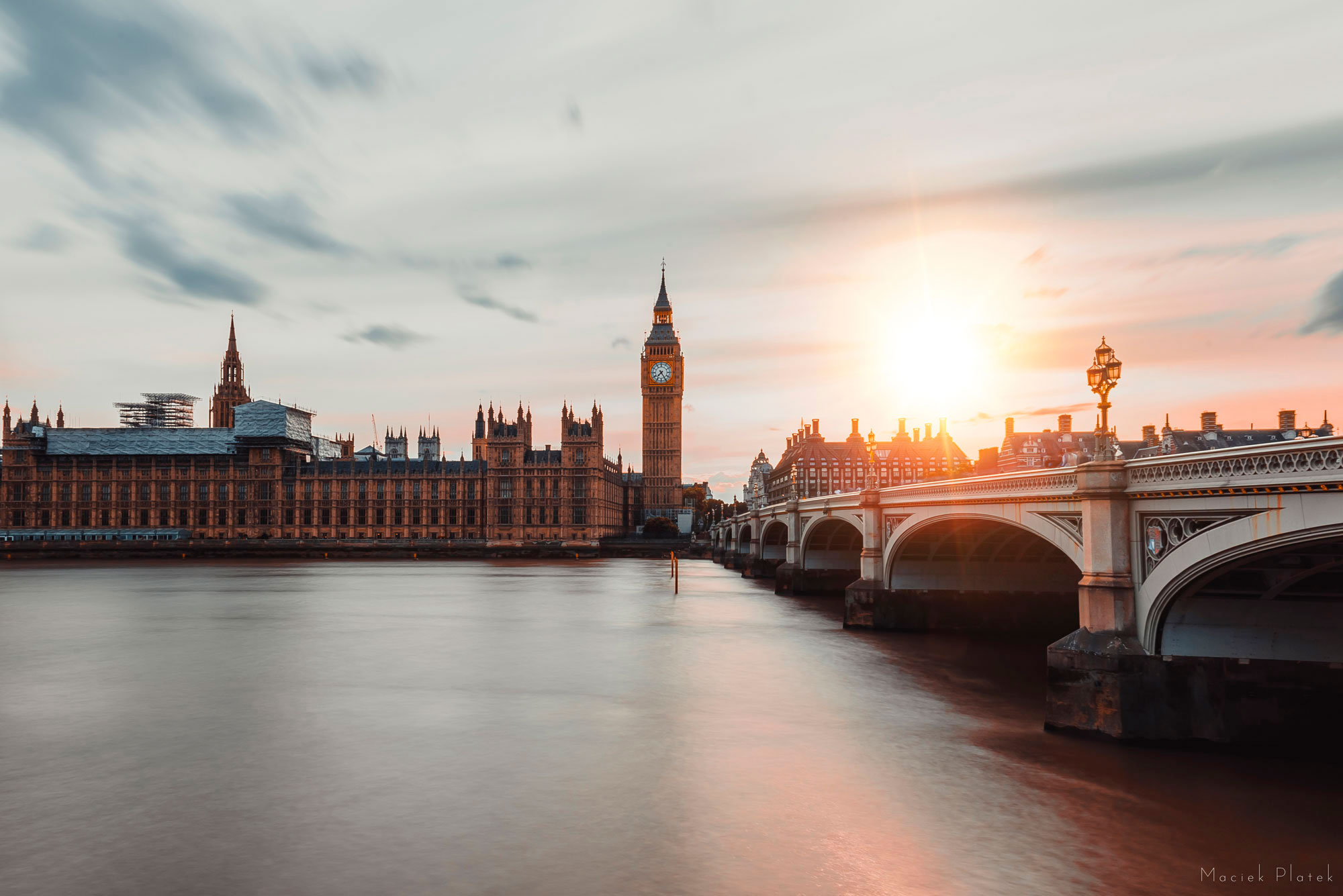 Landscape Photography of London After